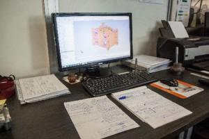 Immagine 3D - Costruzione Stampi